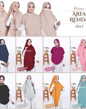 Hijab Cadar Arfa Renda