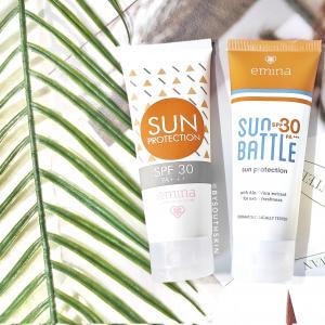 suncreen emina protection vs battle