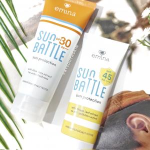 sunscreen emina sun battle spf 30 vs spf 45